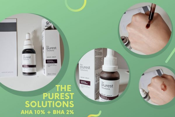 The Purest Solutions – AHA 10% + BHA 2% Peeling